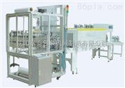 柚子套膜收缩机包装机|矿泉水自动套膜热收缩包装机