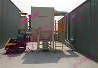 原料加工车间中央集尘系统SINOVAC粉尘治理装置