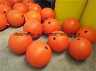 黄岛海上工程专用直径300的塑料浮球厂家批发