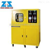 冷热型电动加硫成型机、双层压板做标准片平板硫化压片机