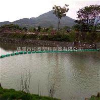 信州河道漂浮物浮筒式拦污排