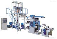 吹膜凹版印刷连线机组 吹膜印刷一体机