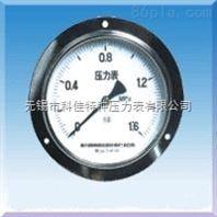 轴向带边压力表Y-50/Y60/Y100/Y150Ⅳ