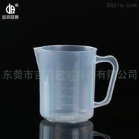 加厚优质500ml量杯 500毫升塑料有耳量杯量筒 测量带刻度 透明容量杯