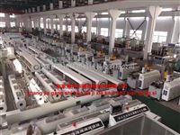 PE,PP卷芯管薄膜缠绕管塑料管材挤出机生产线机器设备